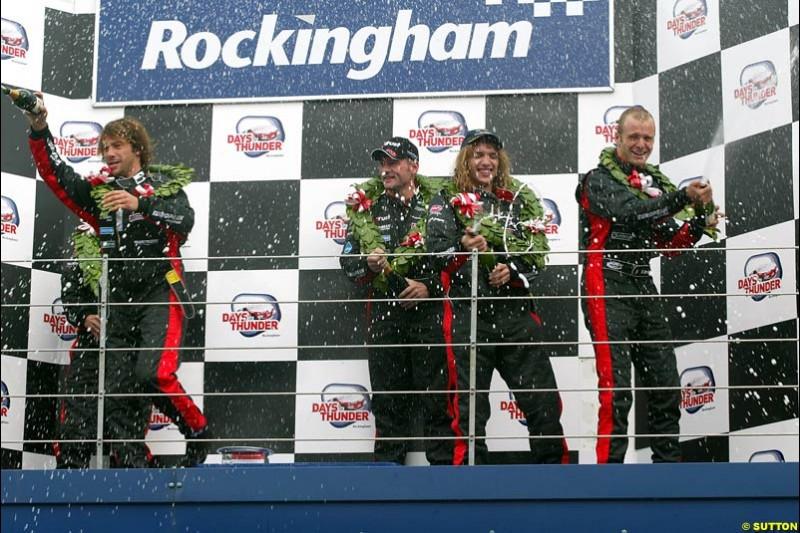 Minardi Thunder at the Rock, Rockingham, England. 29-31 August 2003