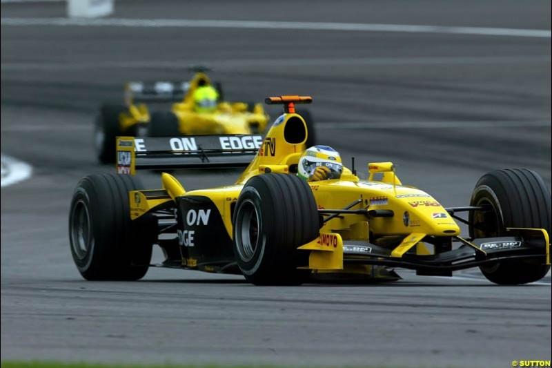 United States GP, Indianapolis Motor Speeway. Sunday, September 29th 2003.