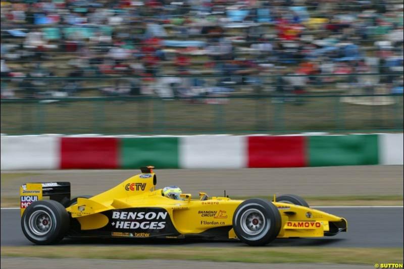 Japanese Grand Prix, Suzuka, Japan. Saturday, October 11th 2003.
