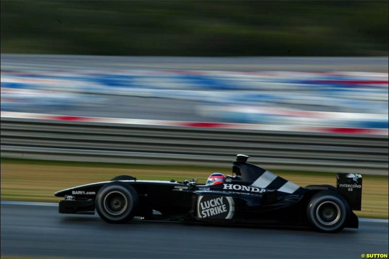 Winter F1 Testing, December 4th, 2003, Jerez, Spain.