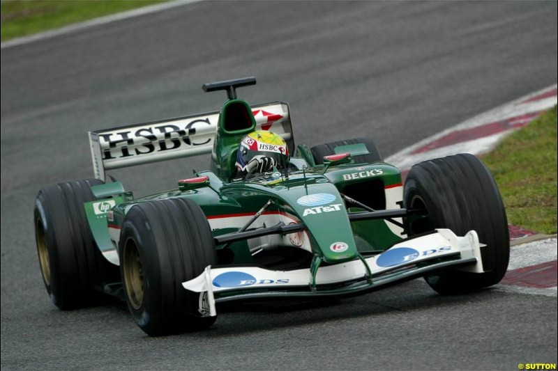 Winter F1 Testing, December 2nd, 2003, Barcelona, Spain.