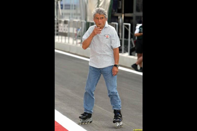 Pierre Dupasquier, Michelin. Bahrain Grand Prix, Bahrain International Circuit. April 1st, 2004.
