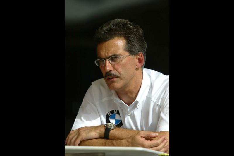 Mario Thiessen, BMW. Bahrain Grand Prix, Bahrain International Circuit. April 1st, 2004.