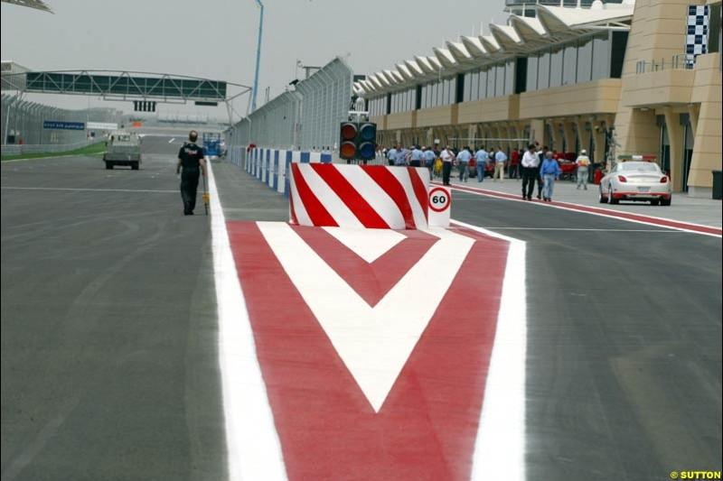 Bahrain Grand Prix, Bahrain International Circuit. April 1st, 2004.