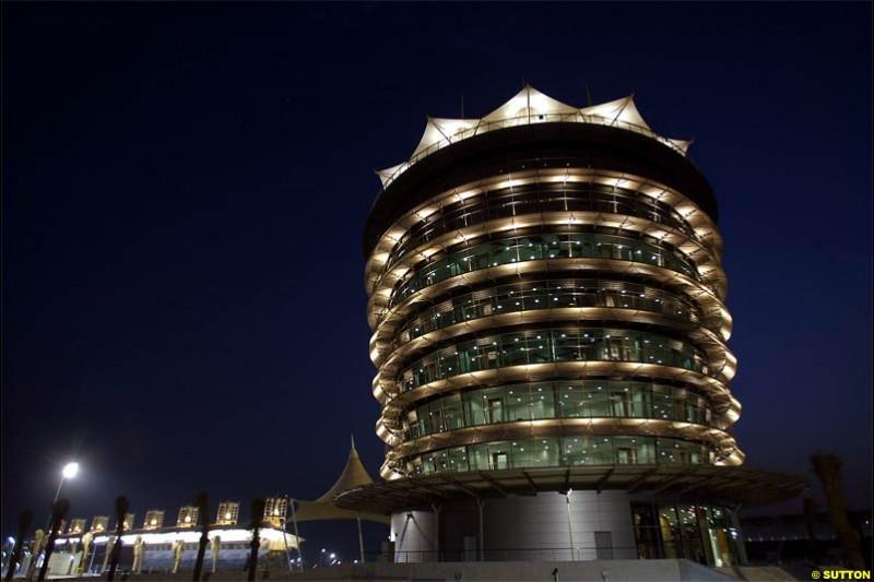 The Bahrain International Circuit, Sakhir, Bahrain. March 17th, 2004.