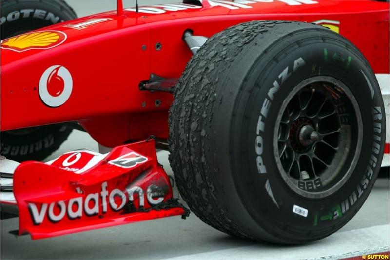 The Bahrain Grand Prix. Bahrain International Circuit, April 4th 2004.