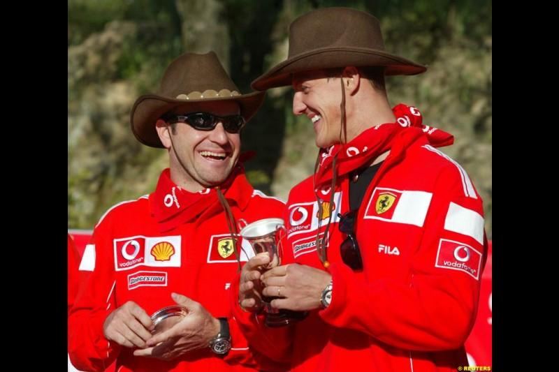 Spanish Grand Prix preparations. 6th May, 2004. May 7th, 2004.