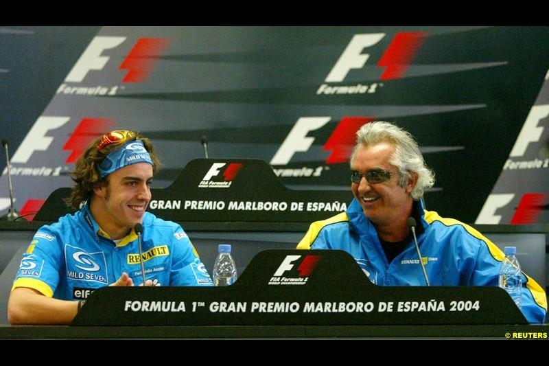 Spanish Grand Prix. Barcelona, Spain. Thursday, May 6th 2004.