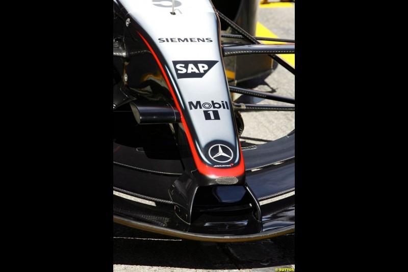 Mclaren-Mercedes, Spanish GP Preparations, May 6th, 2004.