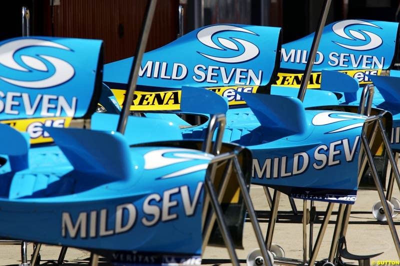 Spanish GP Preparations, May 6th, 2004.