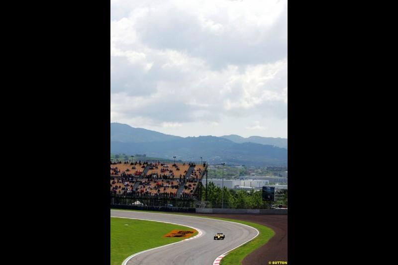 Spanish GP, Friday May 7th, 2004.