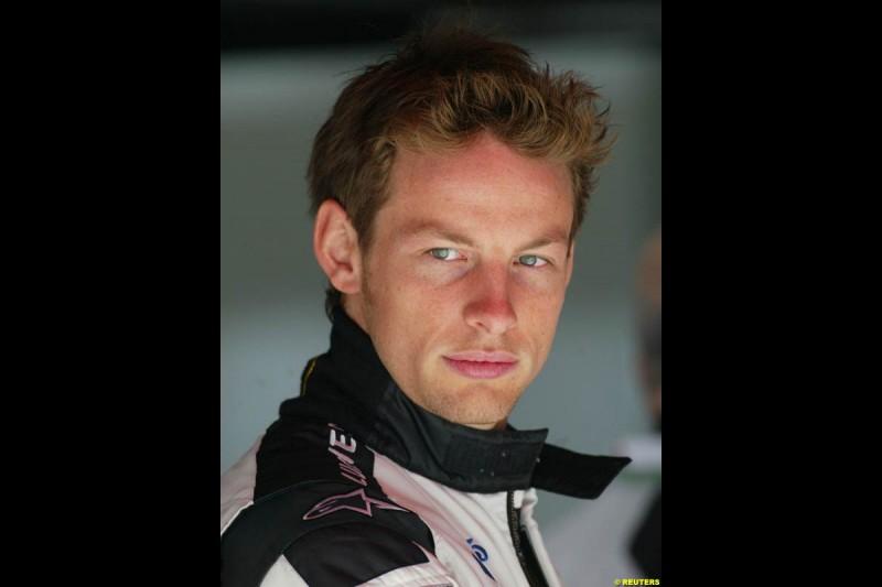 Jenson Button, BAR. Spanish Grand Prix Friday practice. Barcelona, Spain. May 7th 2004.