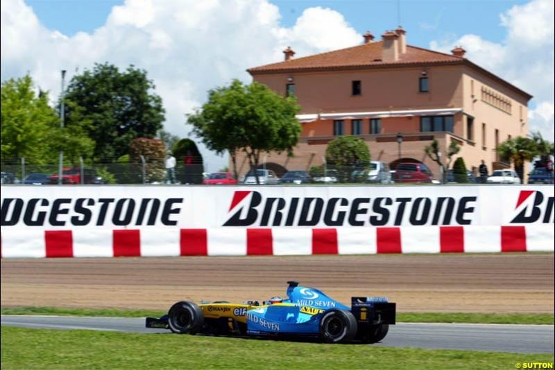 Spanish Grand Prix Saturday. Circuit de Catalunya. Barcelona, Spain. May 8th 2004.