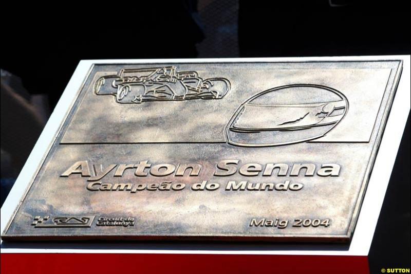 Spanish GP, Saturday May 8th, 2004.