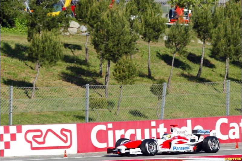 Spanish Grand Prix at the Circuit de Catalunya. Saturday, 8th May, 2004. May 8th, 2004.