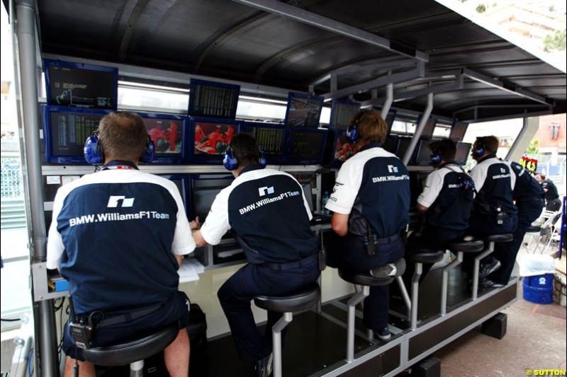 BMW-Williams, Monaco GP, Thursday May 20th, 2004.