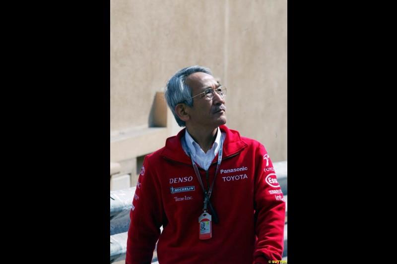 Tsutomu Tomita, Monaco GP, Thursday May 20th, 2004.