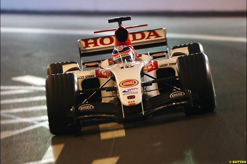 Takuma Sato, BAR-Honda, Monaco GP, Thursday May 20th, 2004.