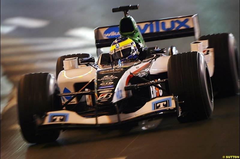 Zsolt Baumgartner, Minardi-Cosworth, Monaco GP, Thursday May 20th, 2004.