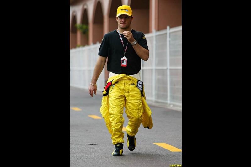 Monaco GP, Thursday May 20th, 2004.