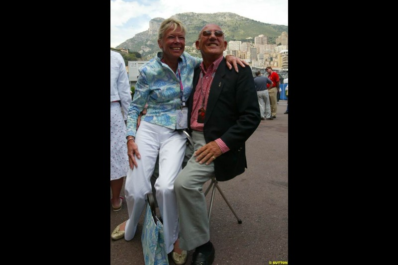 Sir Stirling Moss, Monaco GP, Sunday May 23rd, 2004.