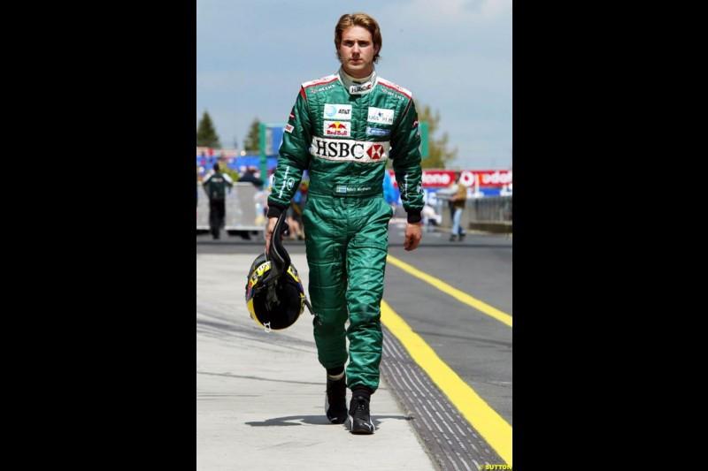 Bjorn Wirdheim, European GP, Friday May 28th, 2004.