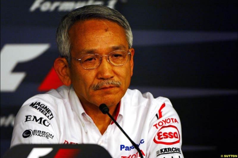 Tsutomu Tomita, European GP, Friday May 28th, 2004.
