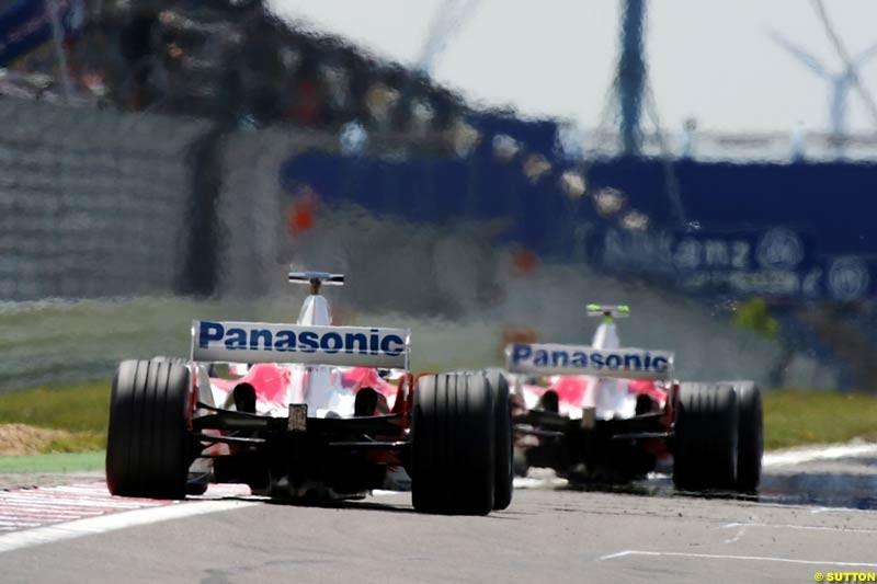 Toyota, European GP, Friday May 28th, 2004.