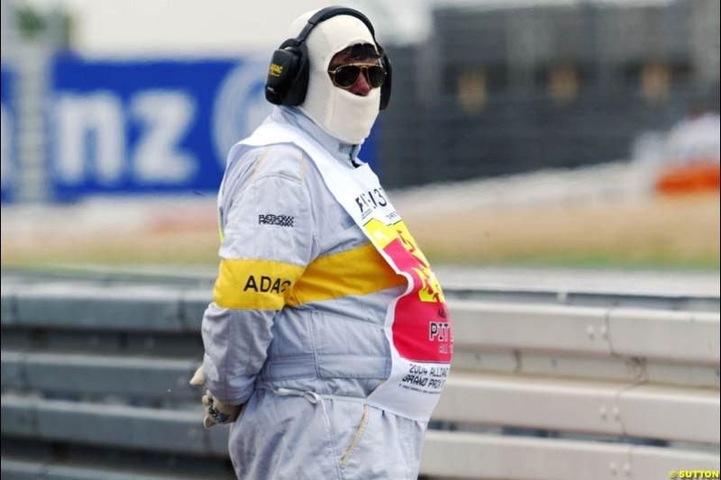 European GP, Friday May 28th, 2004.
