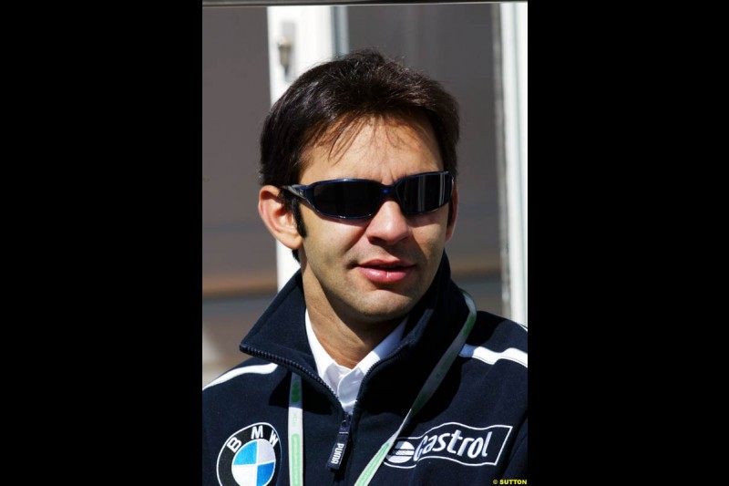 Antonio Pizzonia, BMW-Williams, European GP, Friday May 28th, 2004.