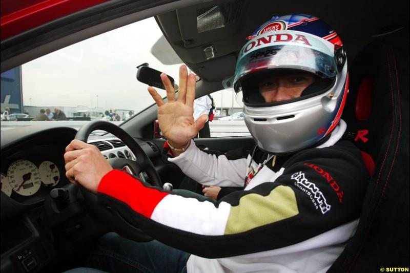 Takuma Sato, European GP, Friday May 28th, 2004.