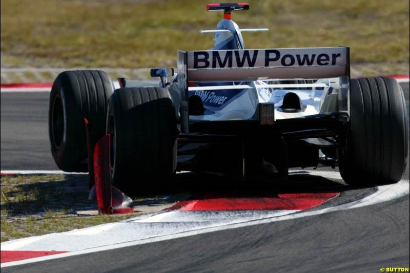 Juan Pablo Montoya, BMW-Williams, European GP, Saturday May 29th, 2004.