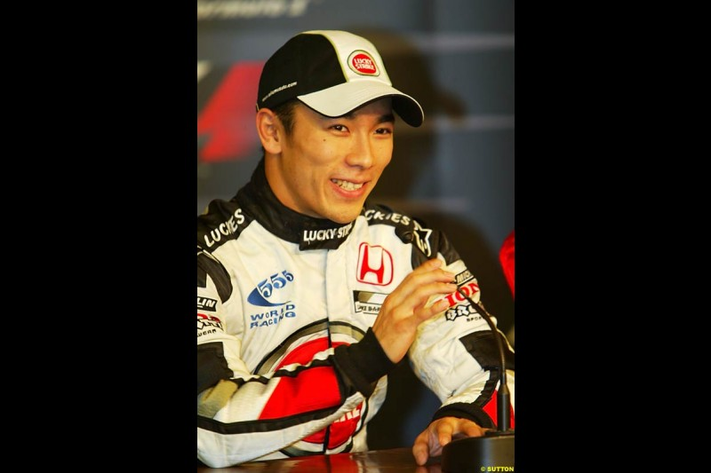 Takuma Sato, European GP, Saturday May 29th, 2004.