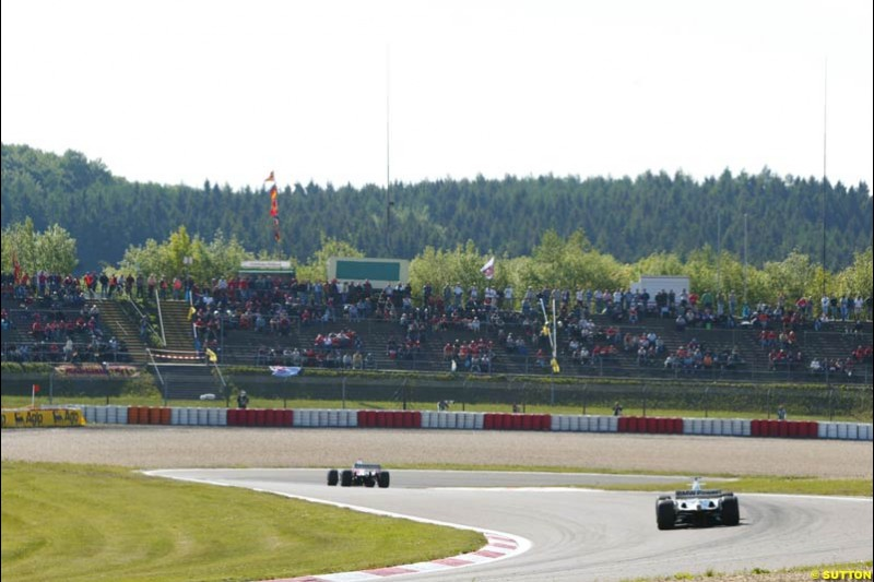 European GP, Saturday May 29th, 2004.