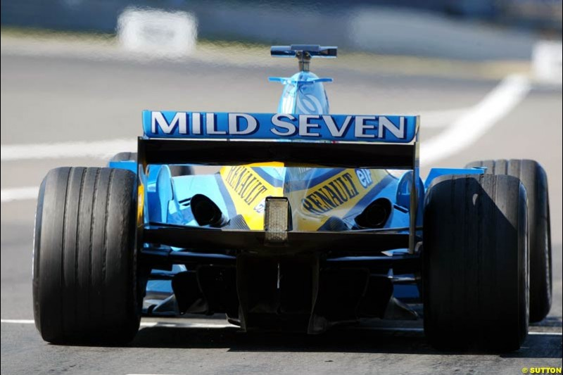 Renault, European GP, Saturday May 29th, 2004.