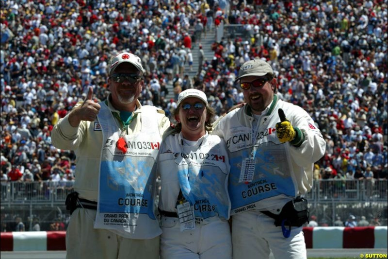 Canadian GP, Saturday June 12th, 2004.