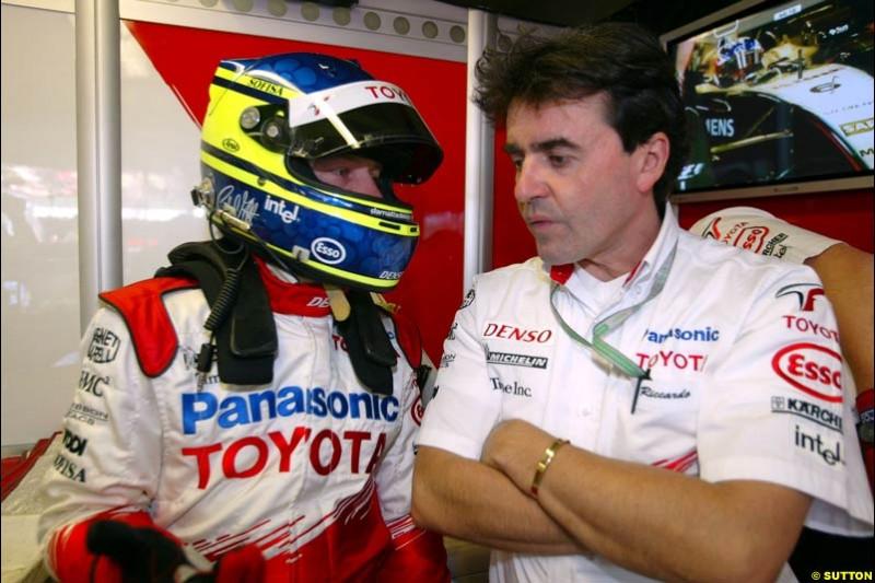 Cristiano da Matta, Canadian GP, Saturday June 12th, 2004.