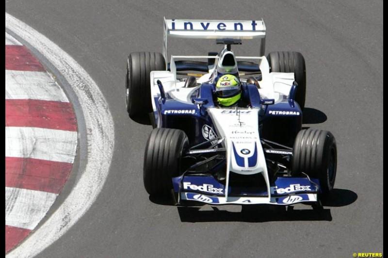 Ralf Schumacher, Williams. The Canadian Grand Prix. Montreal, Canada, 12 June 2004.