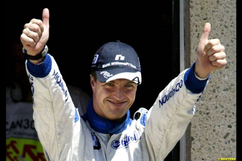 Ralf Schumacher, Williams, on pole position. The Canadian Grand Prix. Montreal, Canada, 12 June 2004.