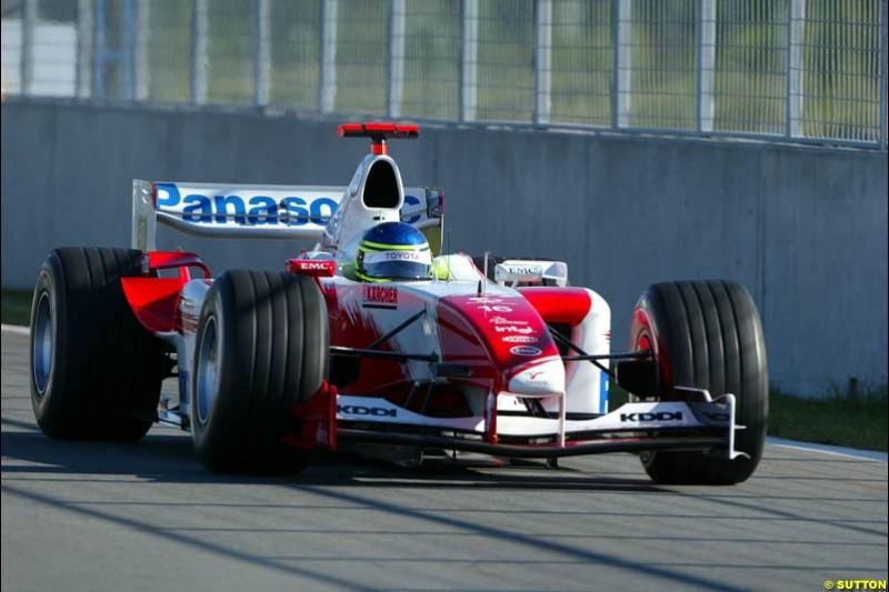 Cristiano da Matta, Toyota, Canadian GP, Saturday June 12th, 2004.