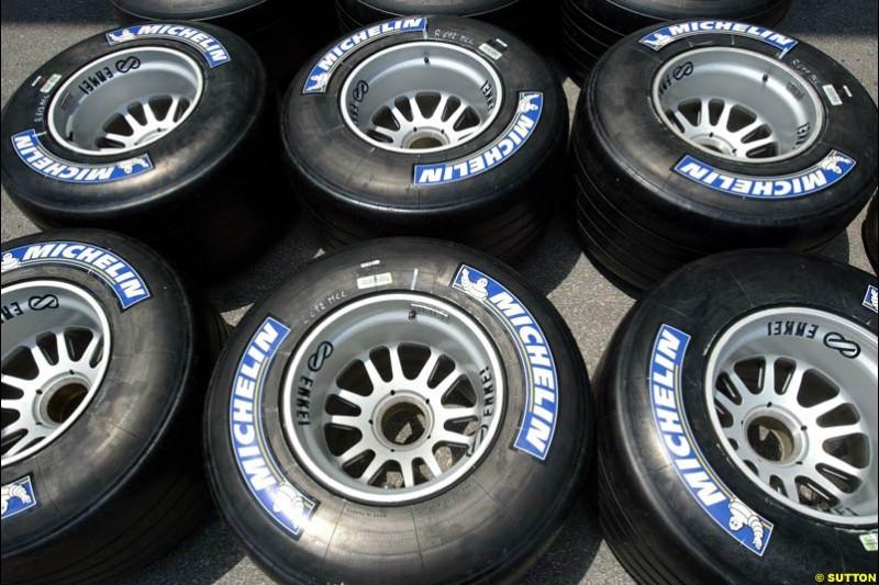 Michelin, United States GP, Thursday June 17th, 2004.