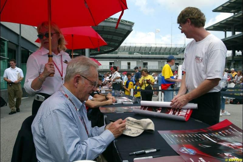 Phil Hill, United States GP, Thursday June 17th, 2004.