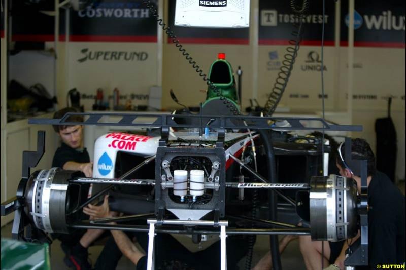 Minardi-Cosworth, United States GP, Thursday June 17th, 2004.