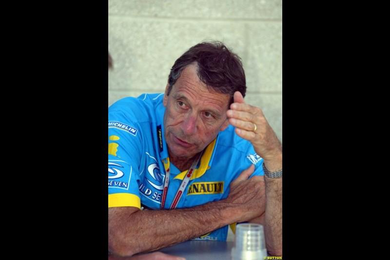 Bernard Dudot, United States GP, Saturday June 19th, 2004.