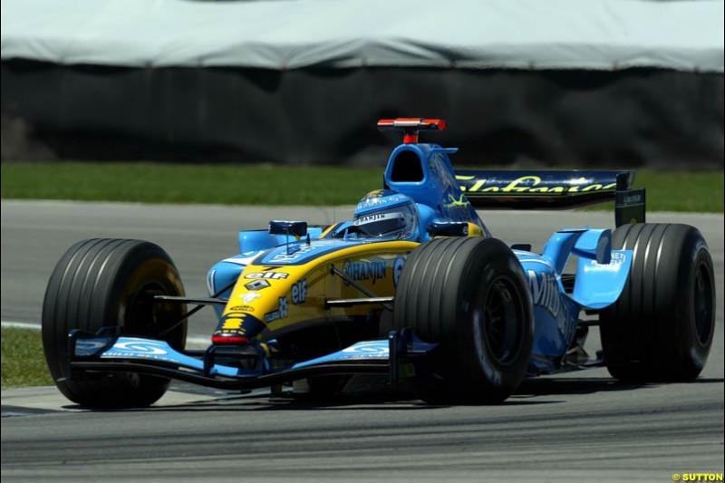 United States GP, Saturday June 19th, 2004.
