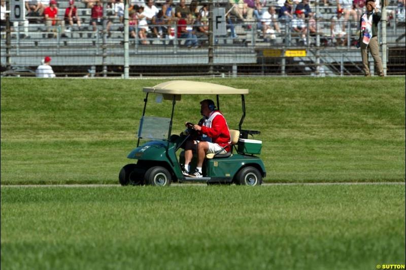 United States Grand Prix. Indianapolis, June 19th, 2004.