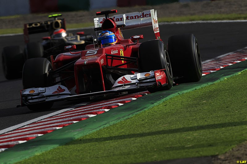 Fernando Alonso, Ferrari F2012, Practice, Formula One World Championship, Round 15, Japanese Grand Prix, Suzuka Circuit, Mie Prefecture, Japan. Friday 5 October 2012.
