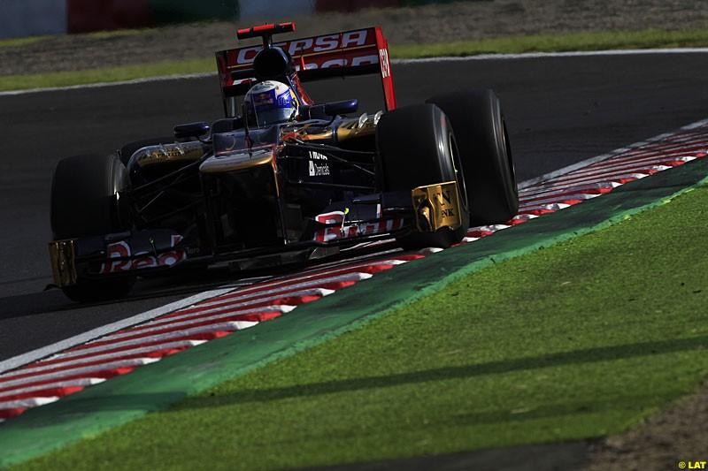 Daniel Ricciardo Toro Rosso STR7, Practice, Formula One World Championship, Round 15, Japanese Grand Prix, Suzuka Circuit, Mie Prefecture, Japan. Friday 5 October 2012.
