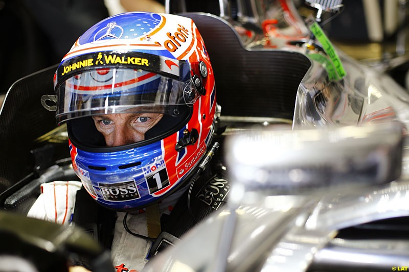 Jenson Button, McLaren, Practice, Formula One World Championship, Round 15, Japanese Grand Prix, Suzuka Circuit, Mie Prefecture, Japan. Friday 5 October 2012.