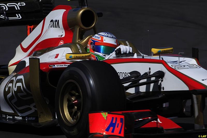 Narain Karthikeyan, HRT F112, Practice, Formula One World Championship, Round 15, Japanese Grand Prix, Suzuka Circuit, Mie Prefecture, Japan. Friday 5 October 2012.